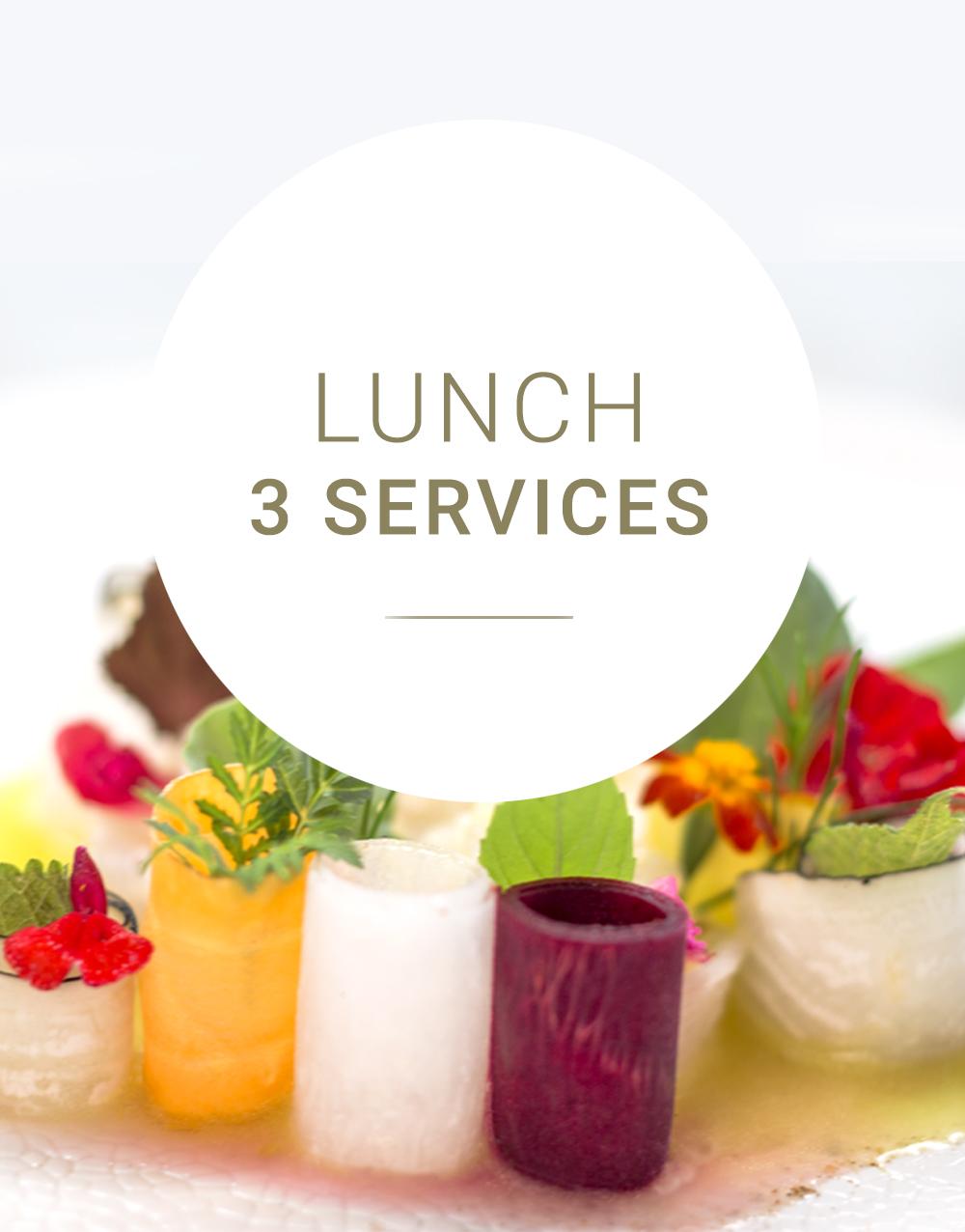 Arabelle Meirlaen - Lunch 3 services cadeaux