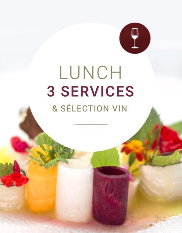Arabelle Meirlaen - Lunch 3 services et vins